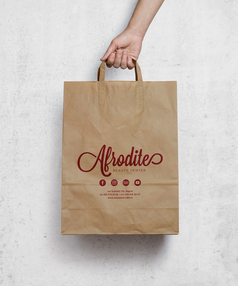 Afrodite shopping bag sokan
