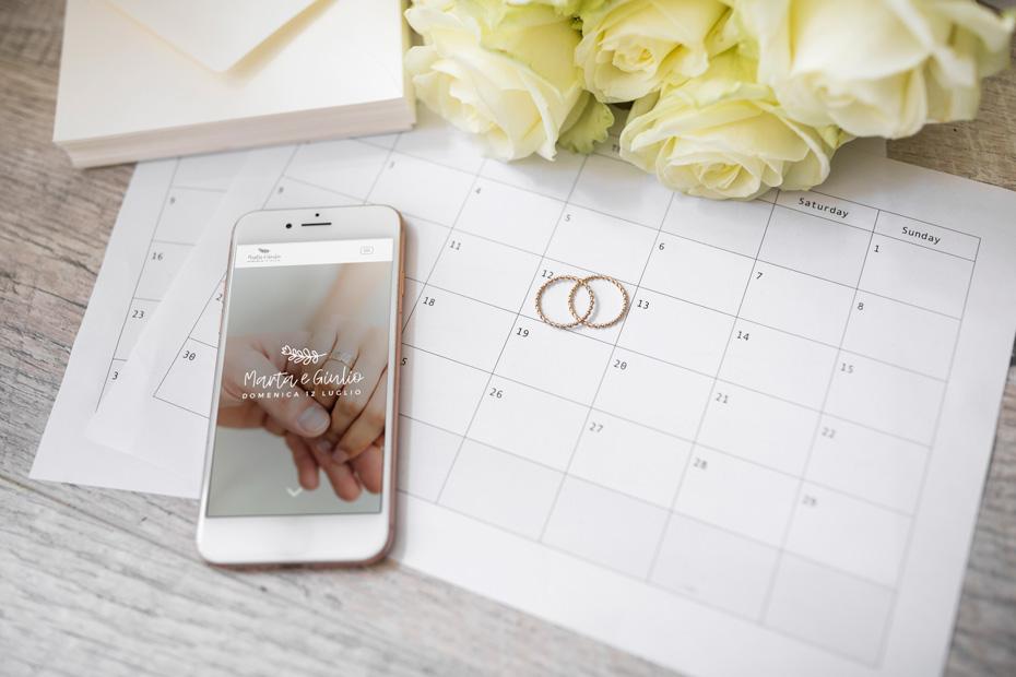 sito web wedding mobile