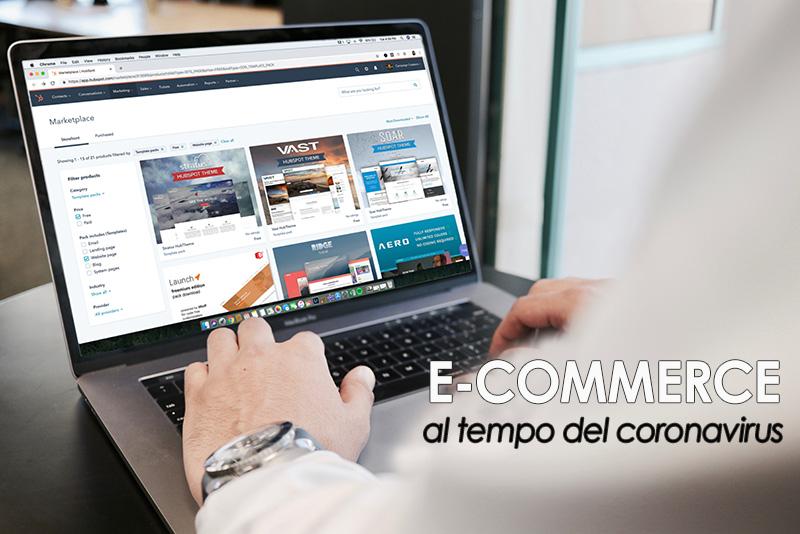 E-commerce, come il Coronavirus può modificare le abitudini d'acquisto degli italiani